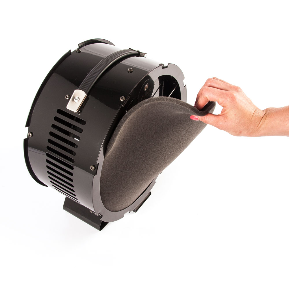Aura Extractor Fan - removing main filter
