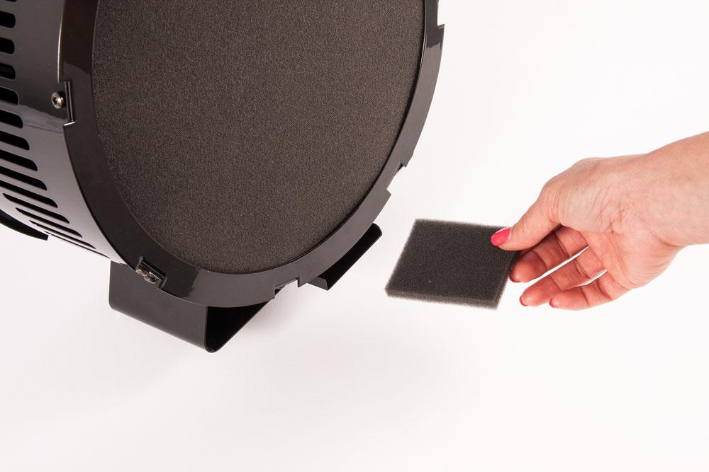Aura Extractor Fan - monitor filter