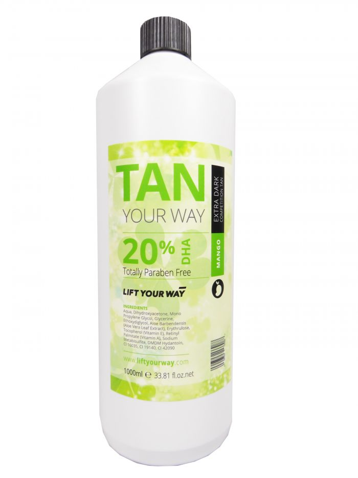 Lift Your Way Tanning Solution