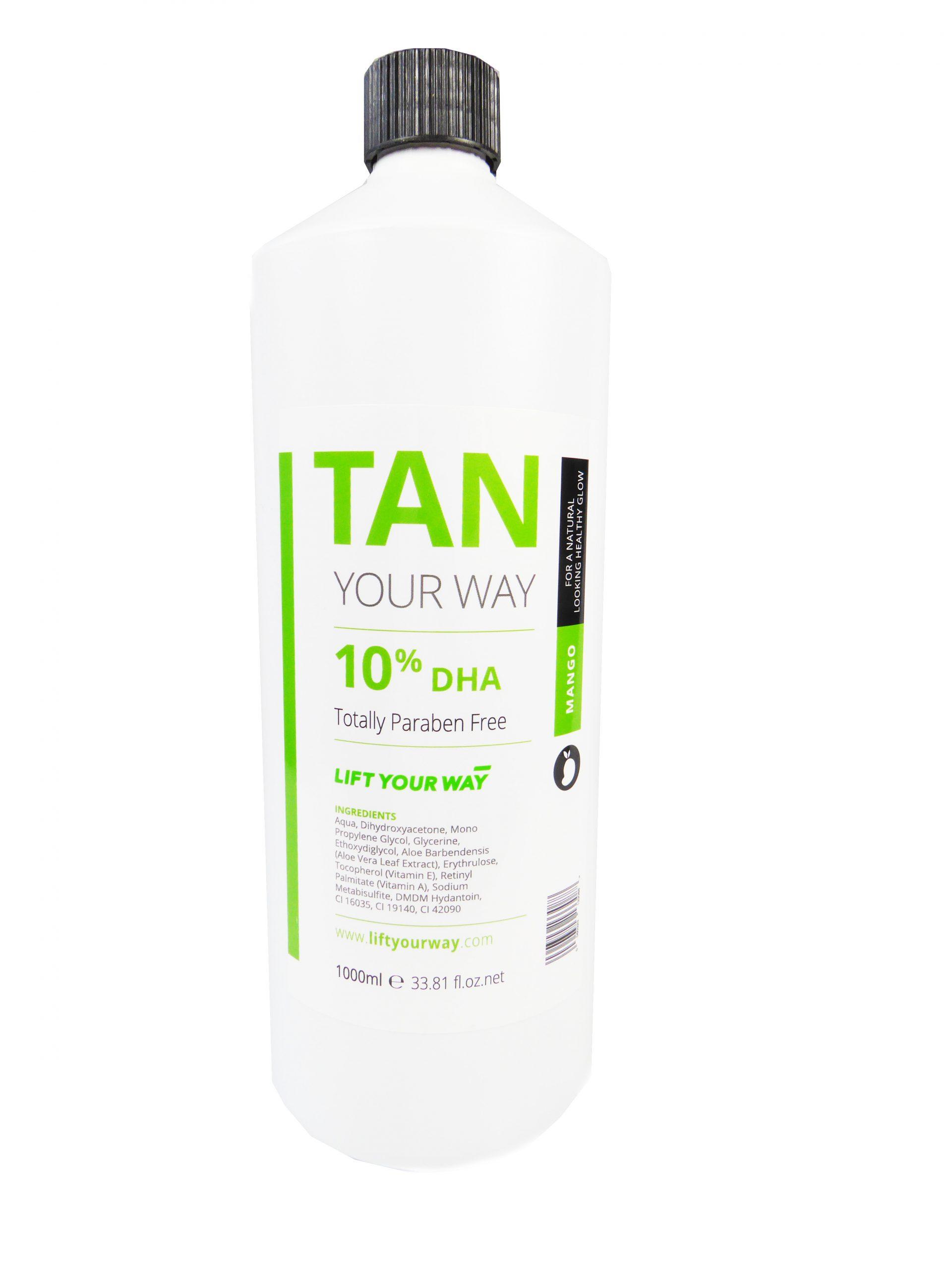 Photoshoot spray tan