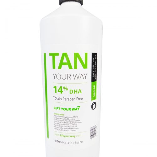 14% professional spray tan