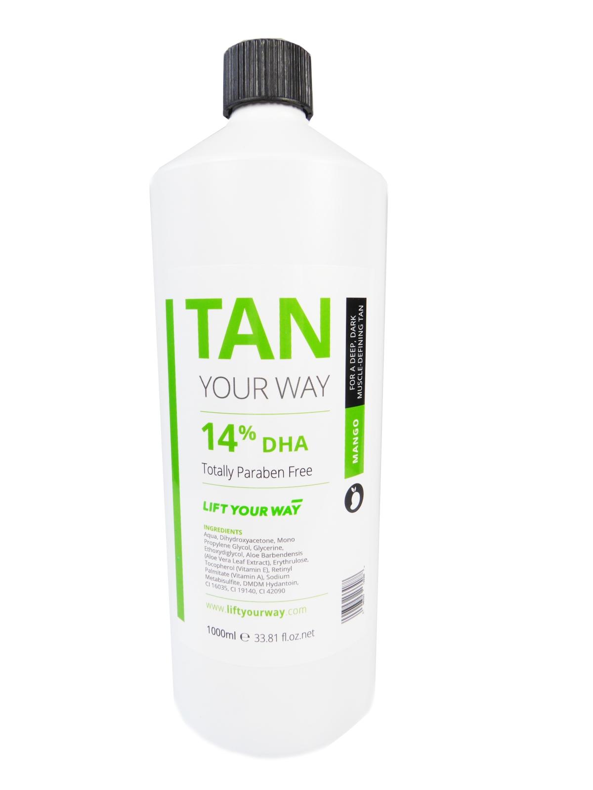 14% professional spray tan