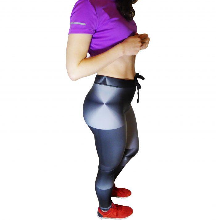 Grey gym leggings