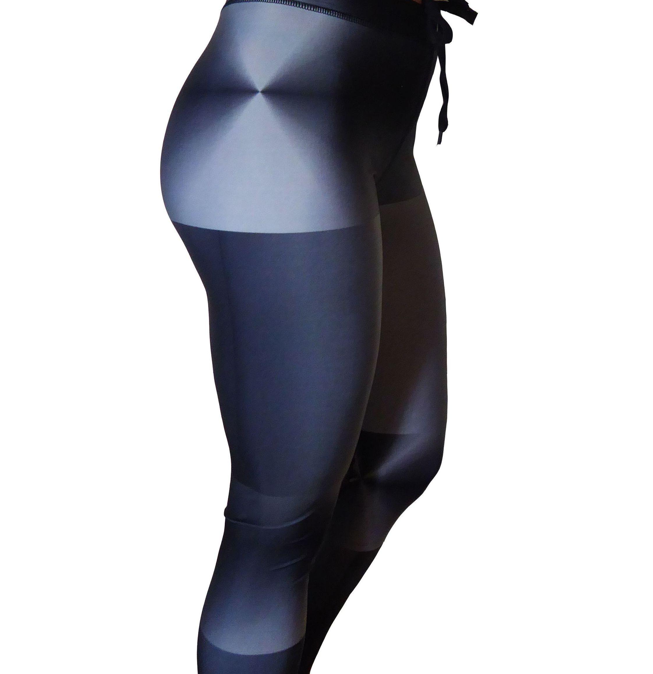 Grey fitness leggings