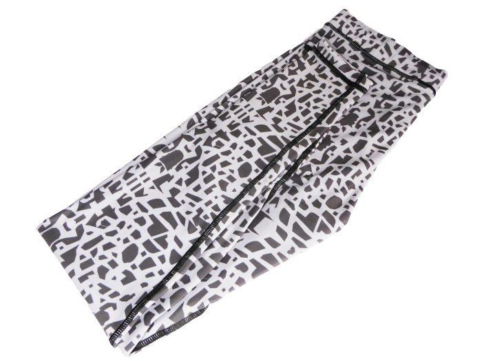 Mosaic pattern leggings
