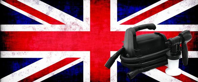 British made tanning machine